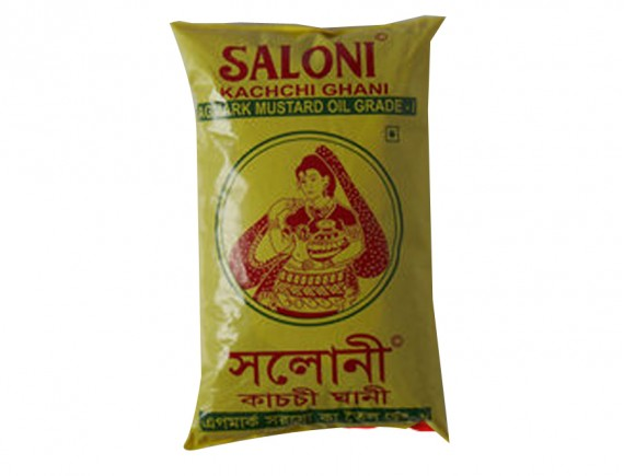 Saloni Mustard Oil (1ltr)